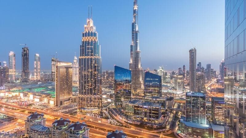 The construction of the new roads aim to improve the capacity of the traffic flow on Sheikh Zayed Road. (Shutterstock)