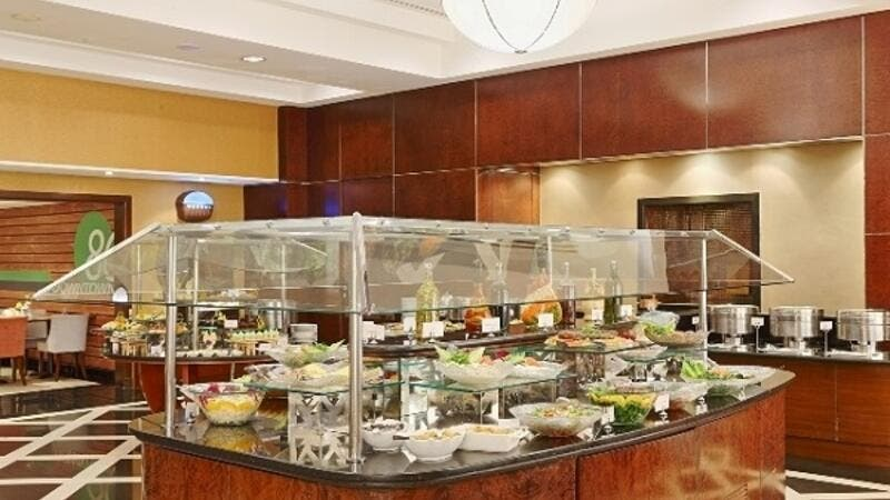 Rich Offerings At-Downtown Restaurant At-Copthorne Hotel Kuwait Cit