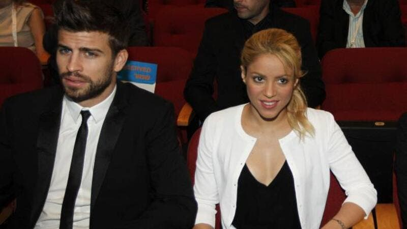 Shakira and Gerard Piqué sat front-row with their sons for a Christmas basketball game in New York City. (AFP/File)
