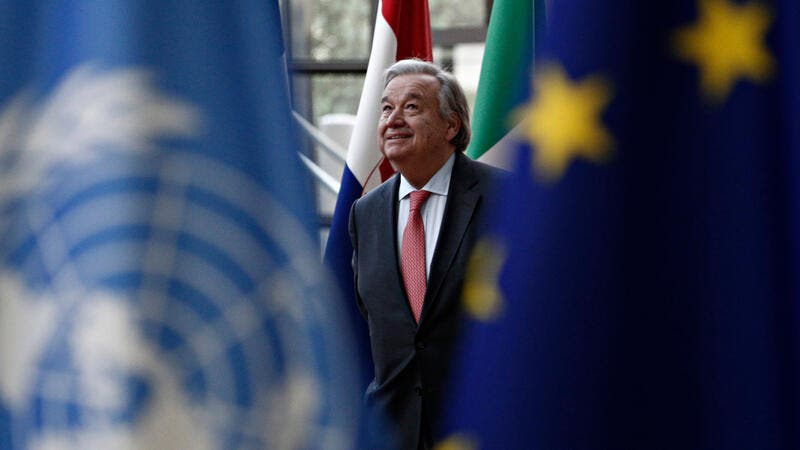 Secretary-General Antonio Guterres  (Shutterstock/File Photo)