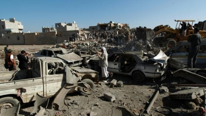After the Yemen ceasefire was implemented April 10, peace talks kicked off April 21. (AFP/File)