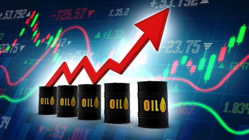 Crude Oil Rebounds to Near 20-Week High