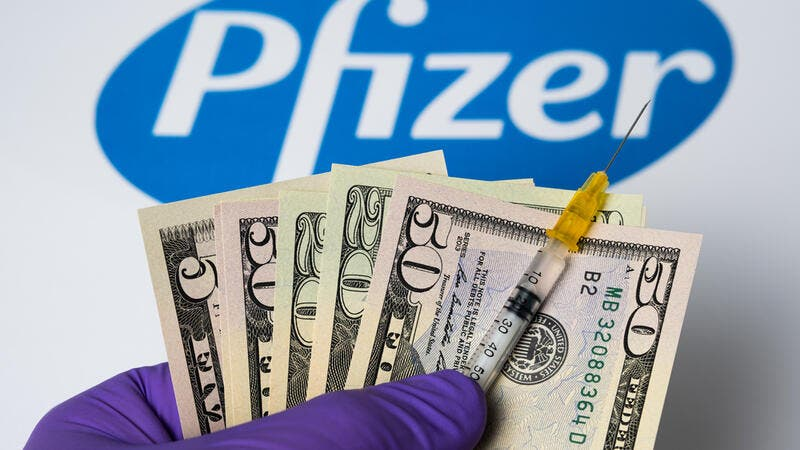 Pfizer shares surge almost 4 pc on vaccine report