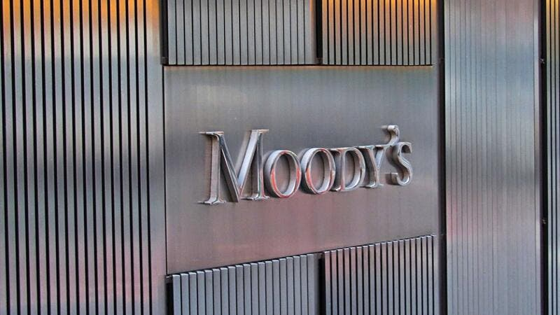 Moody's said significant tightening in external financing conditions