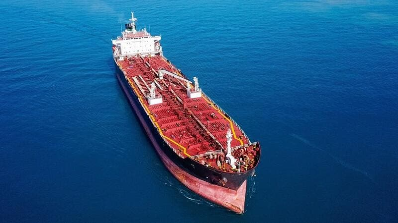 The small tanker was carrying about 700,000 litres of smuggled fuel