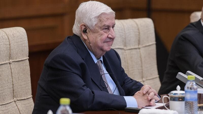 Syrian Foreign Minister Walid Muallem  (AFP)