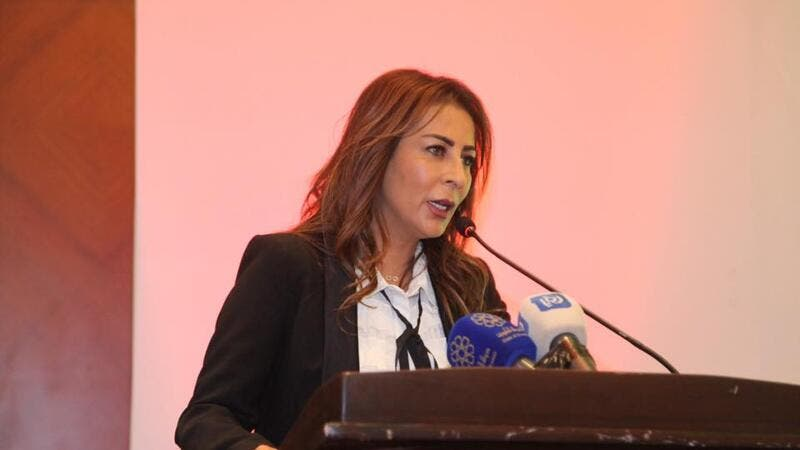 Minister of State for Media Affairs and the Government's Spokesperson Jumana Ghunaimat (Twitter)