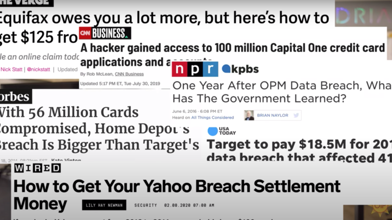 Consumer Privacy before Blockchain?  /OIP Youtube Screengrab