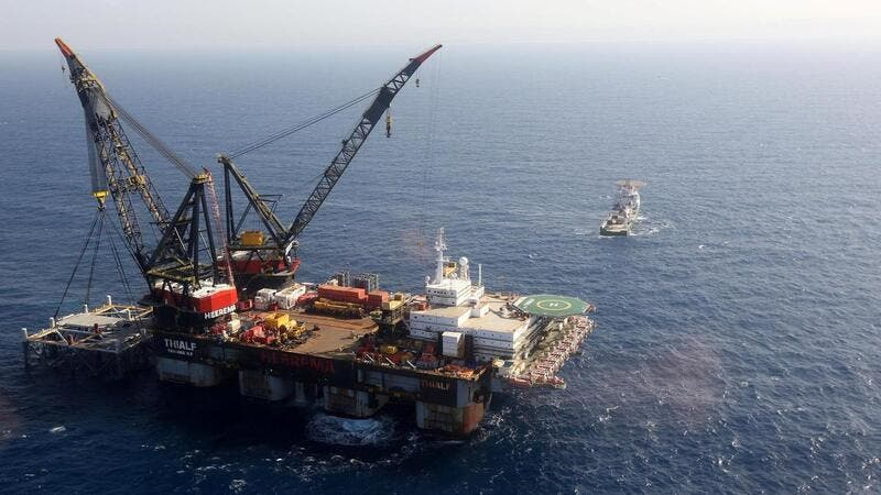 In January Israel, Cyrprus and Greece signed a $5.8 bn gas pipeline deal in the Eastern Mediterranean /AFP