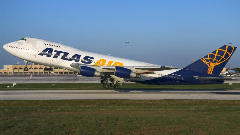 Atlas Air to Purchase 4 Boeing 747-8 Freighters