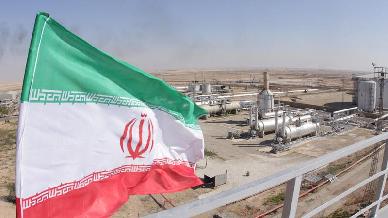 Much of Iran's natural gas comes from the South Pars field.