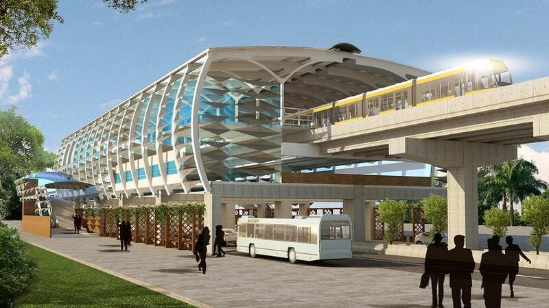 Rahate Colony Station – Nagpur Metro Project