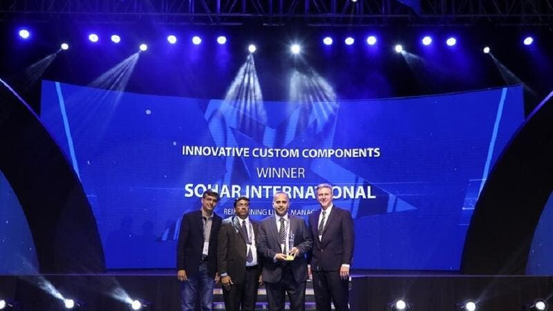 Sohar International Awarded at the Infosys Finacle Client Innovation