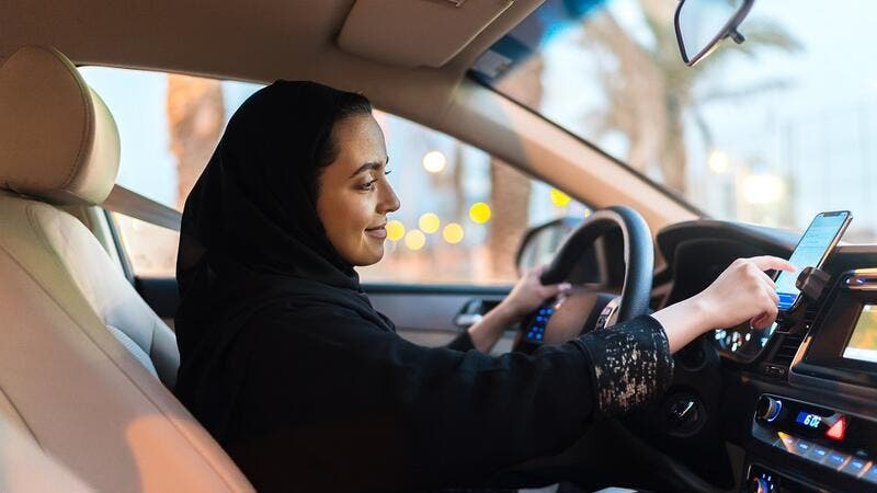 ●	The feature, exclusive to Saudi, falls under 'Masaruky' and is designed to give women driver-partners in Saudi Arabia the choice to select a preference of women riders