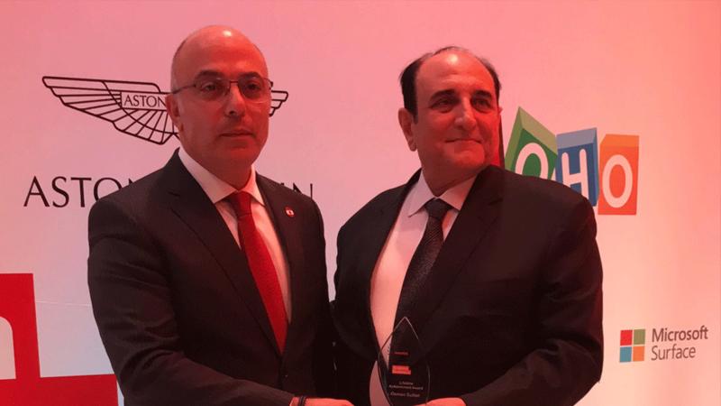 Osman Sultan Honored With a Lifetime Achievement Award | Al