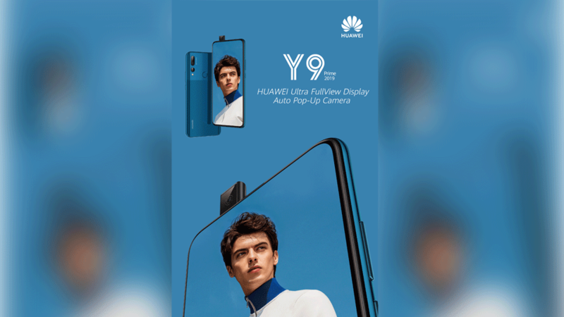 Huawei Releases Highly Anticipated Huawei Y9 Prime 2019 Device in