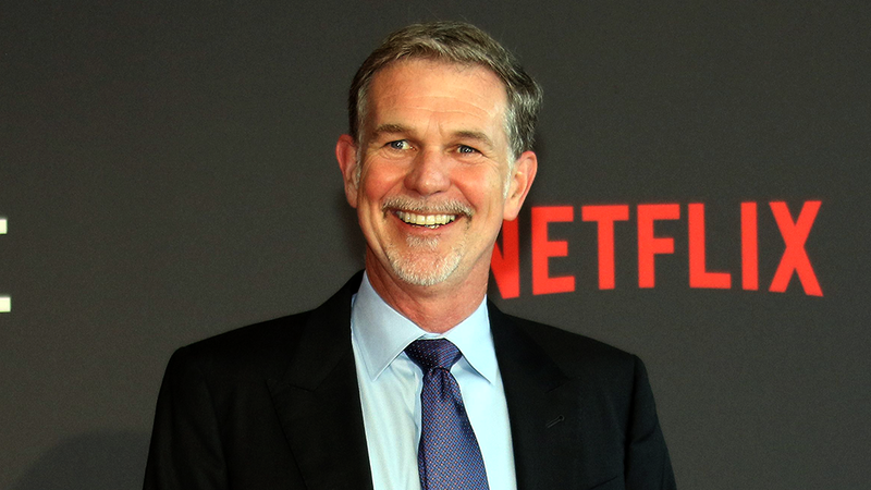 Netflix's CEO, Reed Hastings