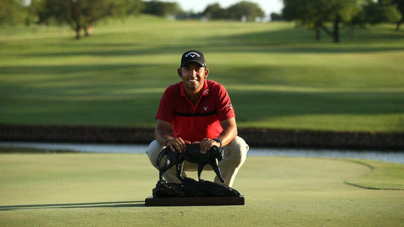 Pablo Larrazabal wins the Alfred Dunhill Championship