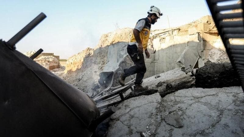 Trump has authorized $4.5 million in aid to the Western-backed White Helmets. (AFP/ File Photo)