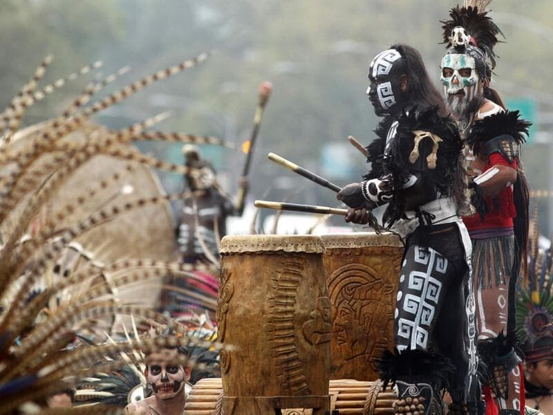 Annual Catrinas Parade in Mexico City  Ulises Ruiz/AFP/Getty Images