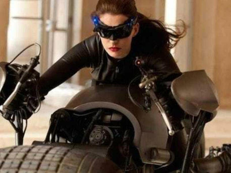 Anne Hathaway played Catwoman in the 2012 film The Dark Knight Rises