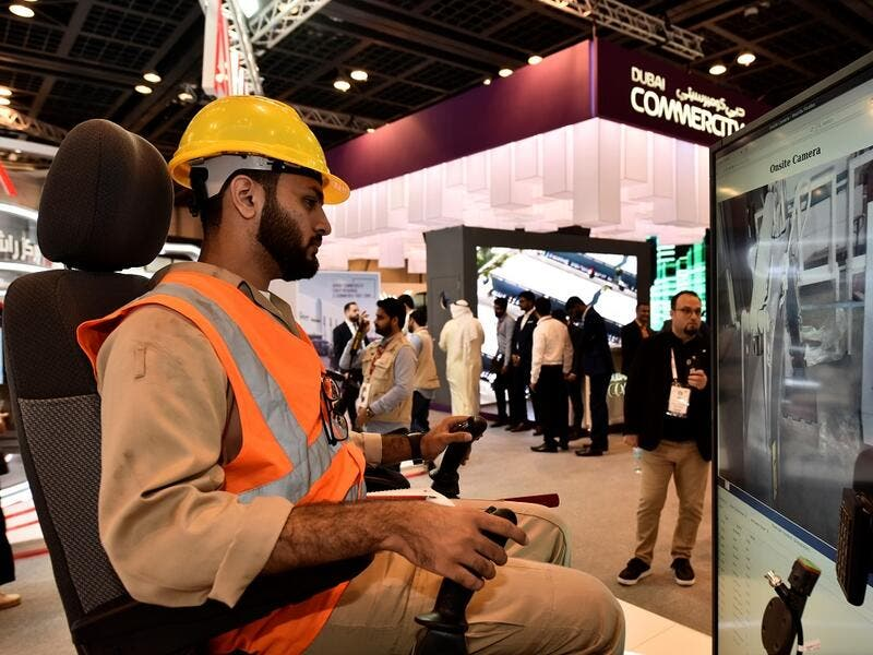 Ericsson exhibits its 5G offerings in the field of Remote operation of vehicles at GITEX 2019