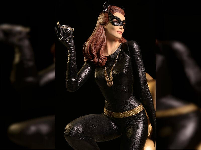 Julie Newmar played Catwoman in the first two seasons of Batman in the early 1960s