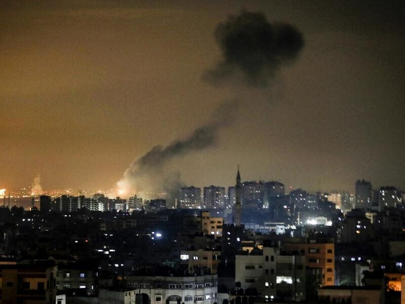 The Israeli military said four rockets were fired from Hamas-controlled Gaza, the first since Israel's ally the US killed top Iranian general Qasem Soleimani. MAHMUD HAMS / AFP
