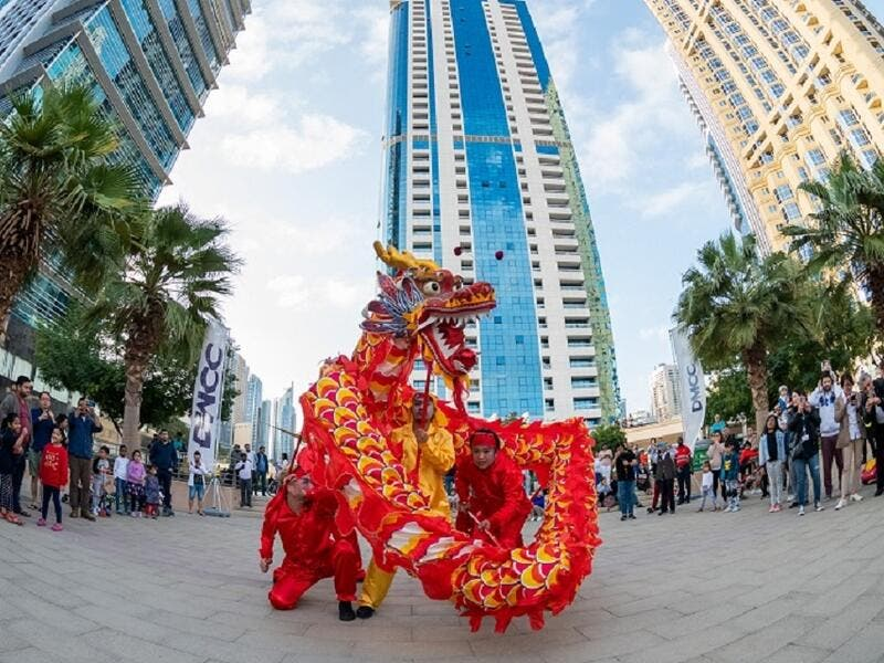 Over 500 members of the JLT community attend DMCC's event to celebrate Chinese New Year