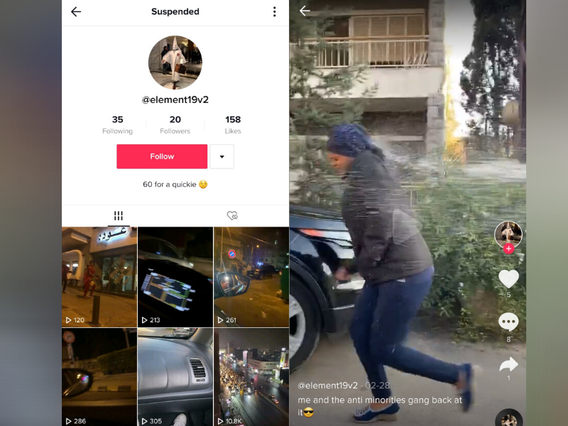 'Cleaning the Minorities': Throwing Water at Refugees and Foreign Workers Suspends Lebanese Tiktok Account