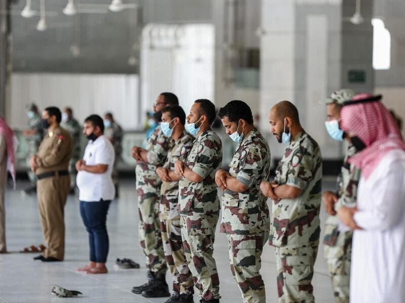 This year's hajj will be held under strict hygiene protocols, with access limited to pilgrims under 65 years old and without any chronic illnesses. AFP
