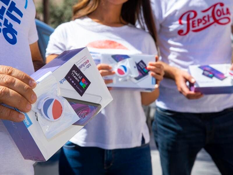 Pepsi & Jordan Ice & Aerated Water Company (Pepsi Jordan) to Donate 50 Tablets to Local Ilearn Initiative to Support Distance Learning for Rural Children