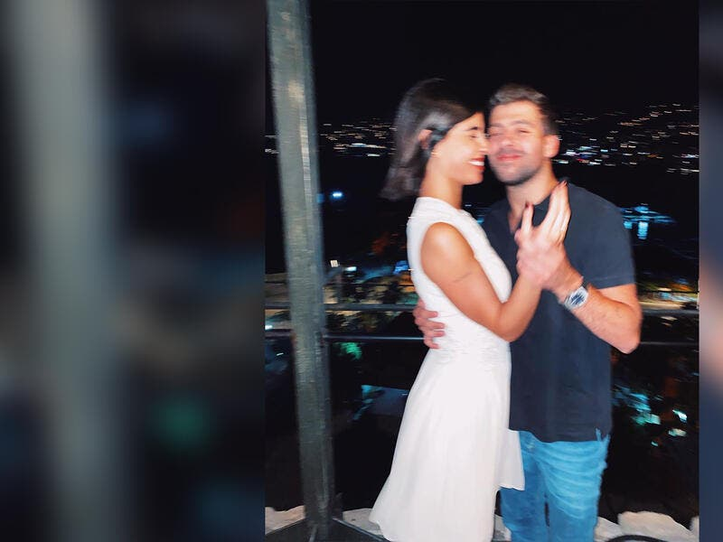 From Proposal To Marriage Check Out Zeina Makki And Nabil Khoury S Romantic Footage Al Bawaba