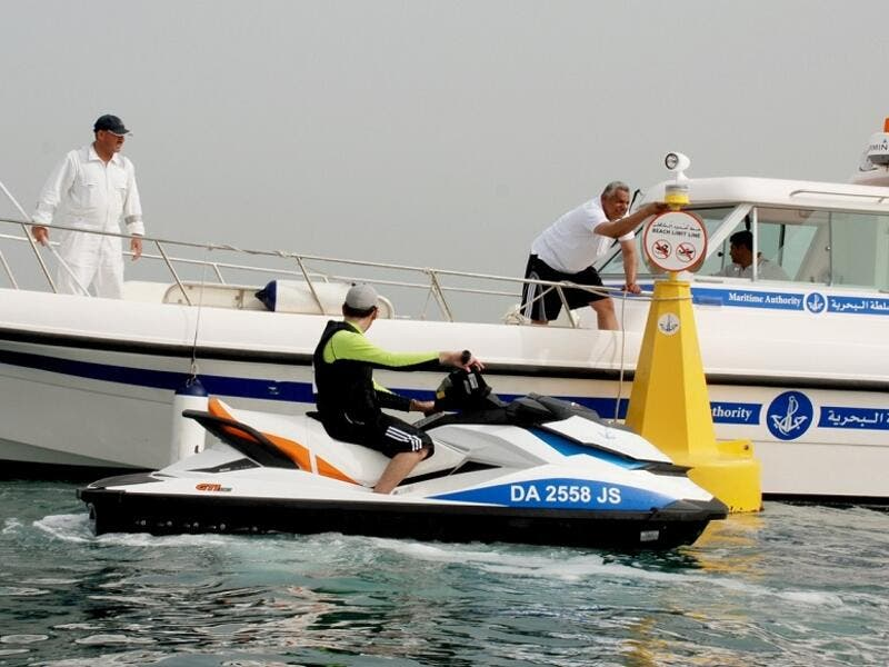 Dubai Maritime City Authority Calls on Marine Crafts and Jet Ski Users To Comply With the Marine Safety Instructions