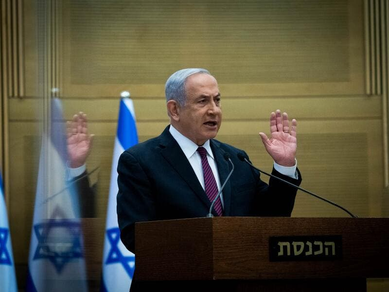 Israel's precarious coalition government took a first step towards collapse on December 2, as lawmakers gave preliminary approval to a bill dissolving parliament, raising the risk of a fourth election inside two years. Yonathan SINDEL / POOL / AFP