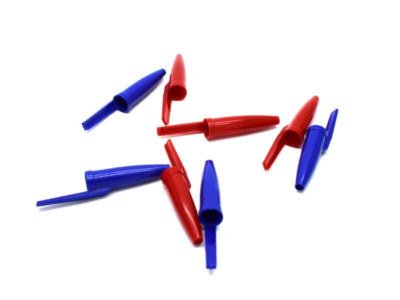1. The pen lid's hole