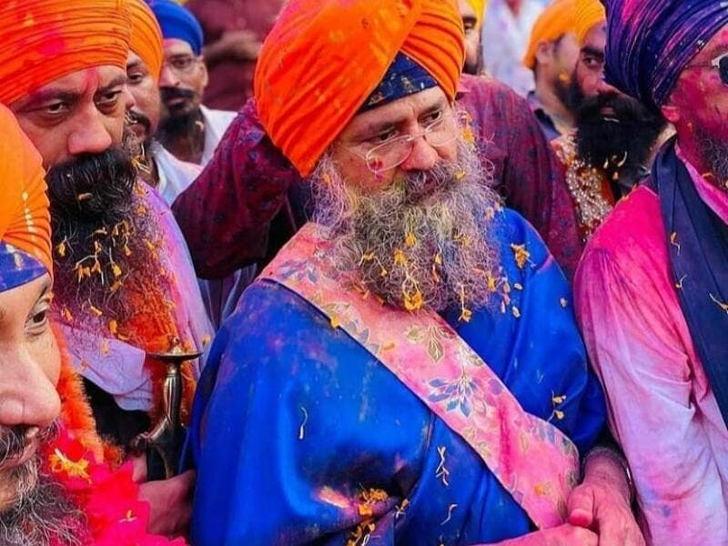 Hola Mohalla is a 3 day long Sikh festival