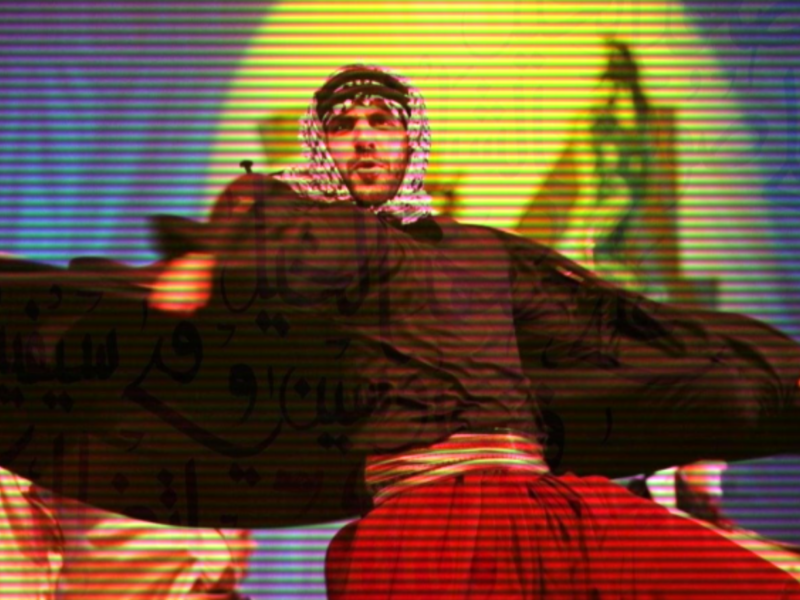 Palestinian dancer and choreographer Ata Khattab