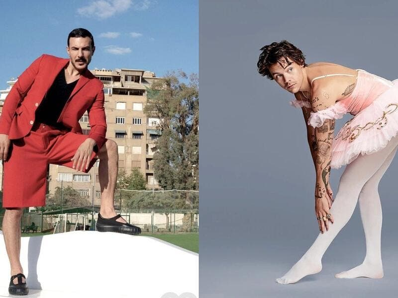 Bassel Khaiat Follows Harry Styles Footsteps and Shows His Feminine Side In the Latest Photoshoot With GQ Middle East
