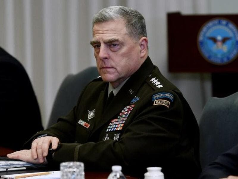 US Joint Chiefs Chairman General Mark Milley
