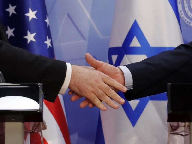 "Pompeo and Netanyahu vowed today to counter Iranian ""aggression"" as the two met in Jerusalem just weeks ahead of Israel's elections.