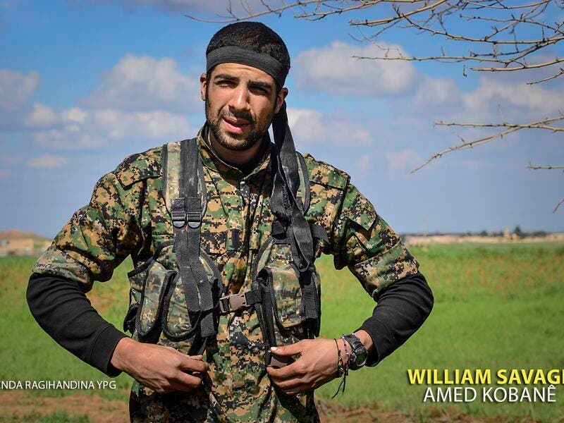 William Savage YPG Syria