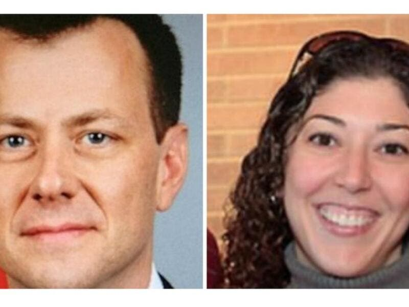 Peter Strzok and  Lisa Page (Twtter)