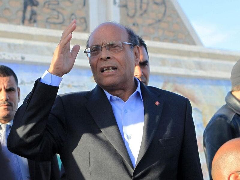 Former President, Moncef Marzouki (Twitter)