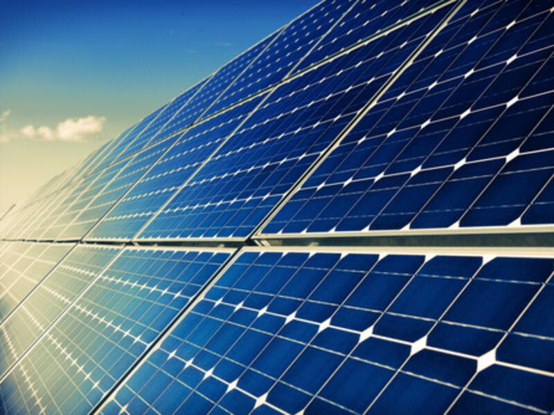 The Mafraq plant is the first PV solar plant to be financed out of the four planned under the Jordanian government's second round of solar PV projects, said the statement. (Shutterstock)
