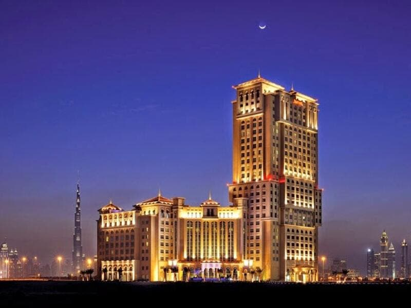 The five-star Marriott Hotel Al Jaddaf in Dubai.  (Marriott)