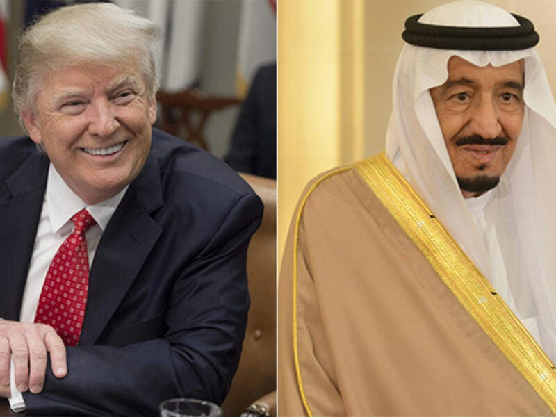 US President Donald Trump will leave for Saudi Arabia on Friday on his first foreign visit as president. (Photos: AFP)