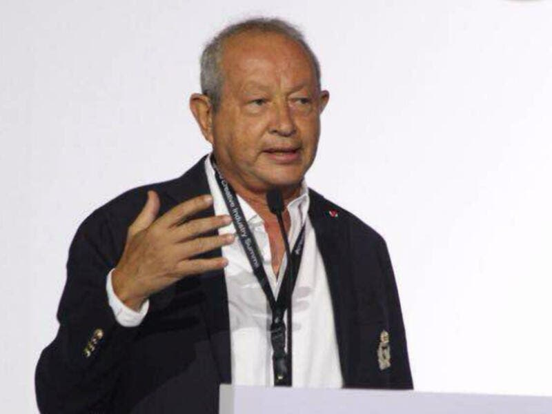 Sawiris had a little fun on Twitter and offered to do Shah Rukh Khan's job for half the price while transporting himself and he'll even crash at his friends' place. (Source: Naguib Sawiris - Twitter)