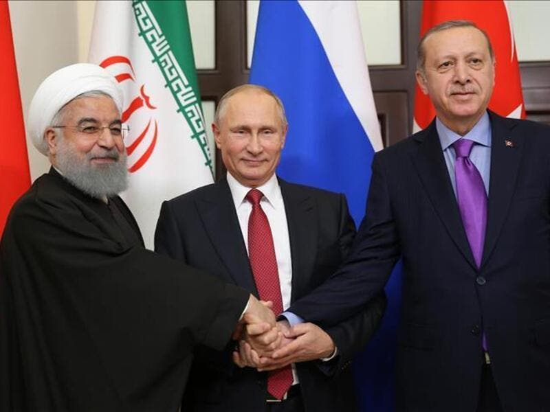 Turkey, Russia and Iran are holding technical talks Monday in Sochi (Twitter)