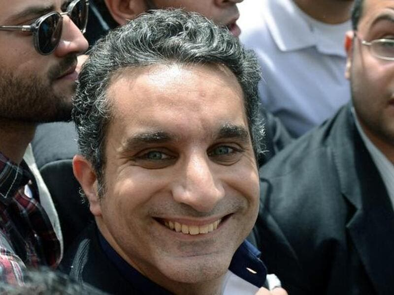 Bassem Youssef joined the chorus of mockery, leading to the Education Minister being forced to delete his Facebook posts. (File photo)